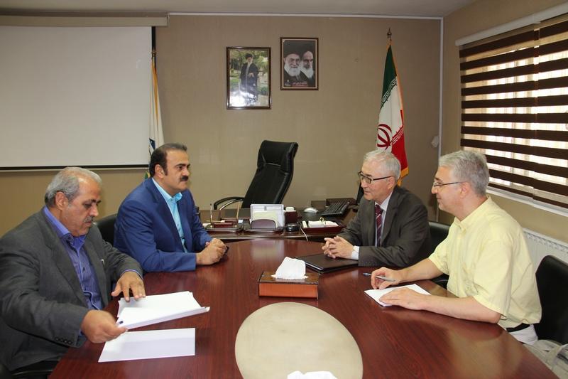 جلسه مهندس رضا الماسی با سفیر مغولستان
