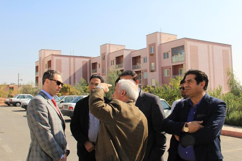 بازدید مهندس رضا الماسی از پروژه سرزمین ایرانیان