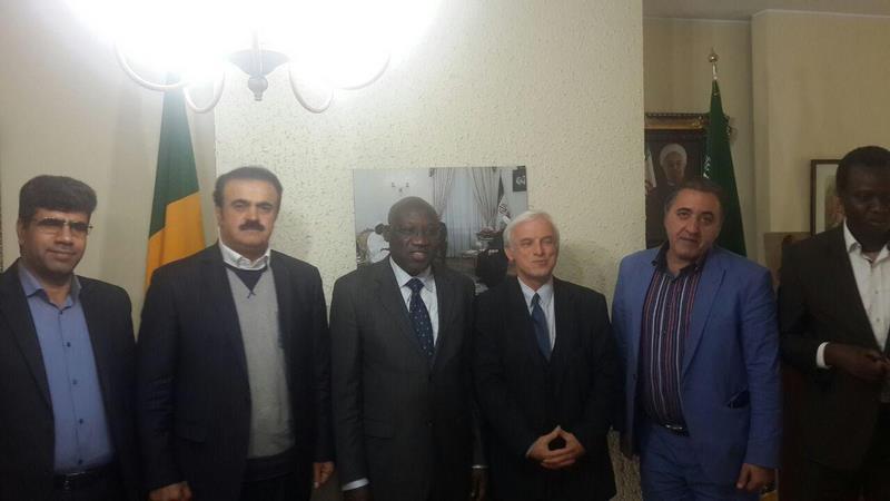 دیدار مهندس رضا الماسی با سفیر سنگال در خصوص 500 واحد مسکونی