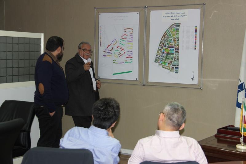 جلسه مهندس رضا الماسی  با گروه مشاور مالی تخصصی چینی برای تامین مالی پروژه ها
